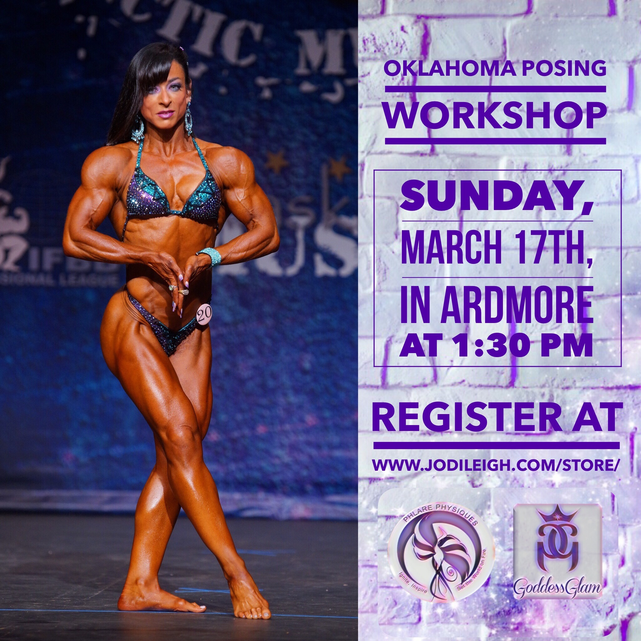 March 17th Posing Workshop in Ardmore, OK, with Jodi Leigh Miller, IFBB Pro (Rescheduled from March 3rd) 00008