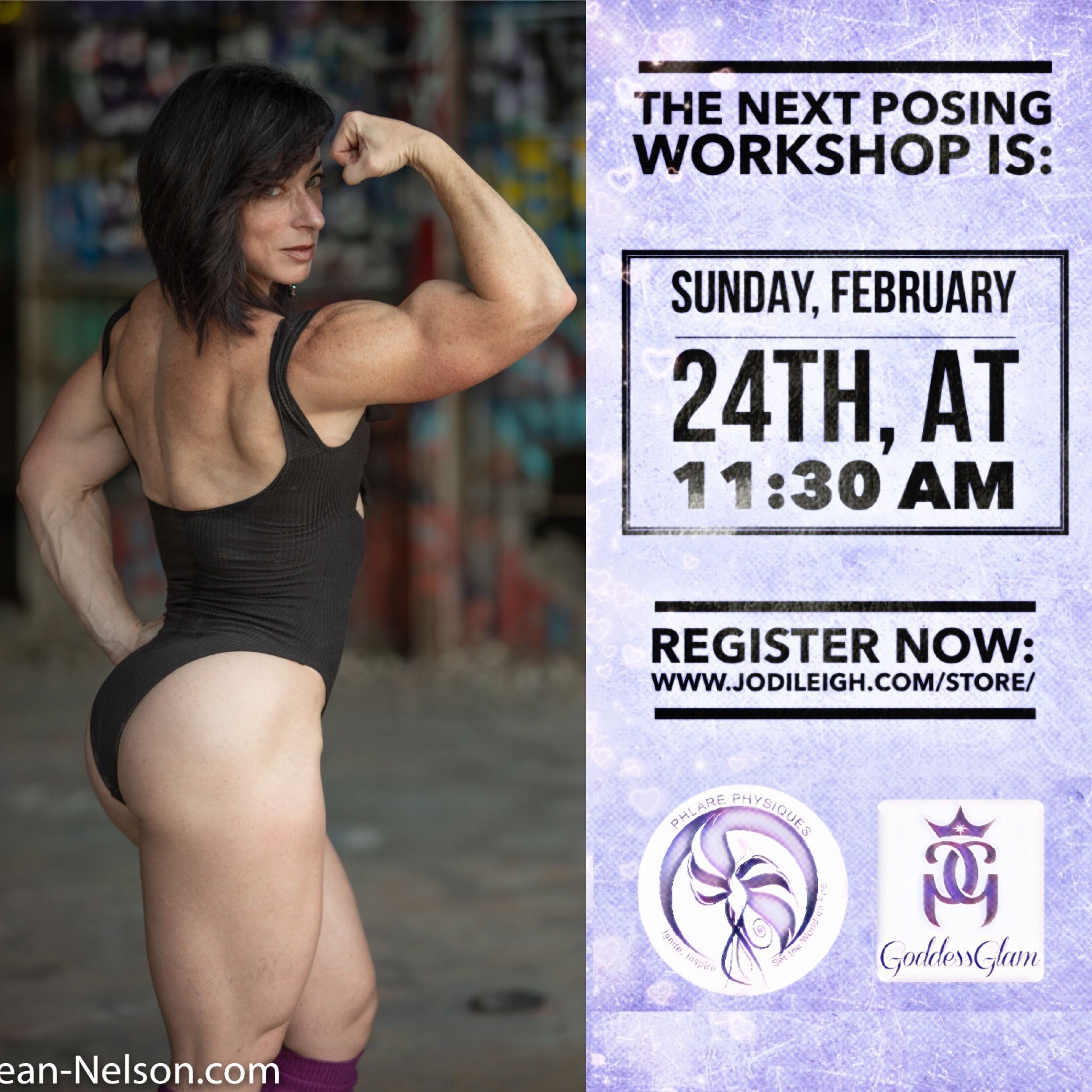 February 24th Posing Workshop with Jodi Leigh Miller, IFBB Pro 00005