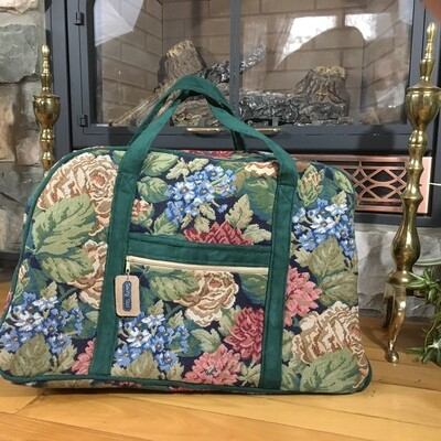 Travel Tote Overnight Bag Carry on Tapestry