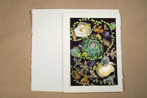 Cabbage Roses TI-GC-136