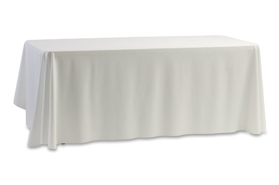 "Banquet Table Extra Long White 90"" x 156"""