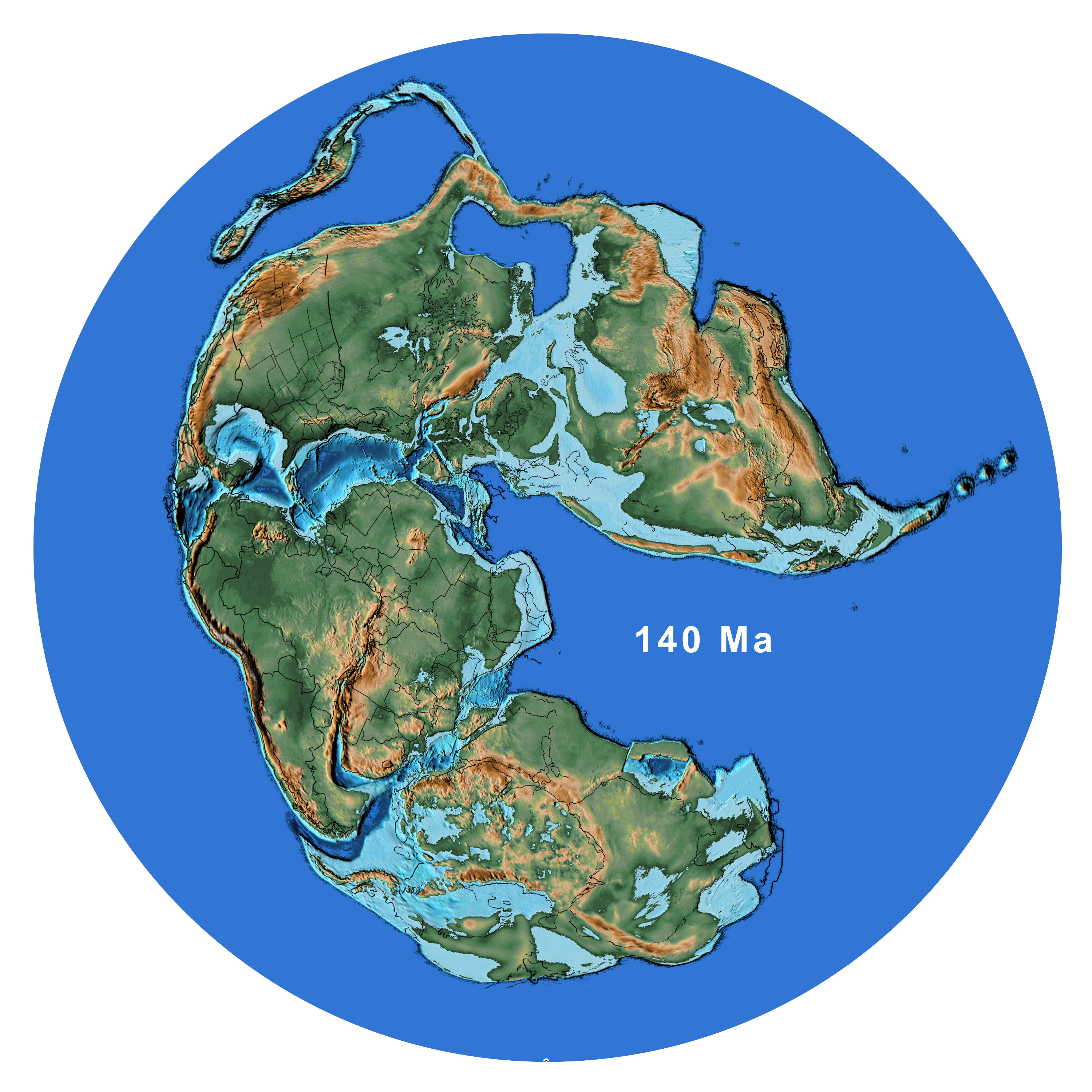 who came up with pangea
