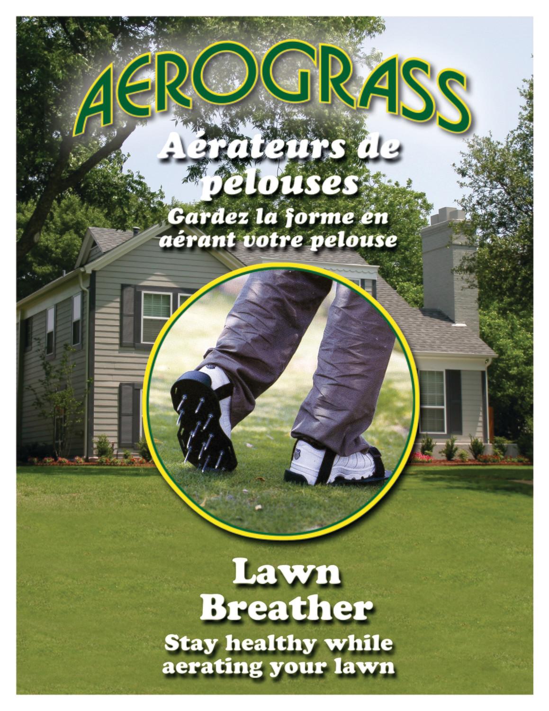 Lawn Breather / Aérateur de Pelouse