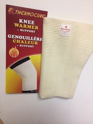 Genouillère chaleur  80% Laine ( Thermocure Fabriqué au:/ Made in Canada)  Knee Warmer  80% Wool