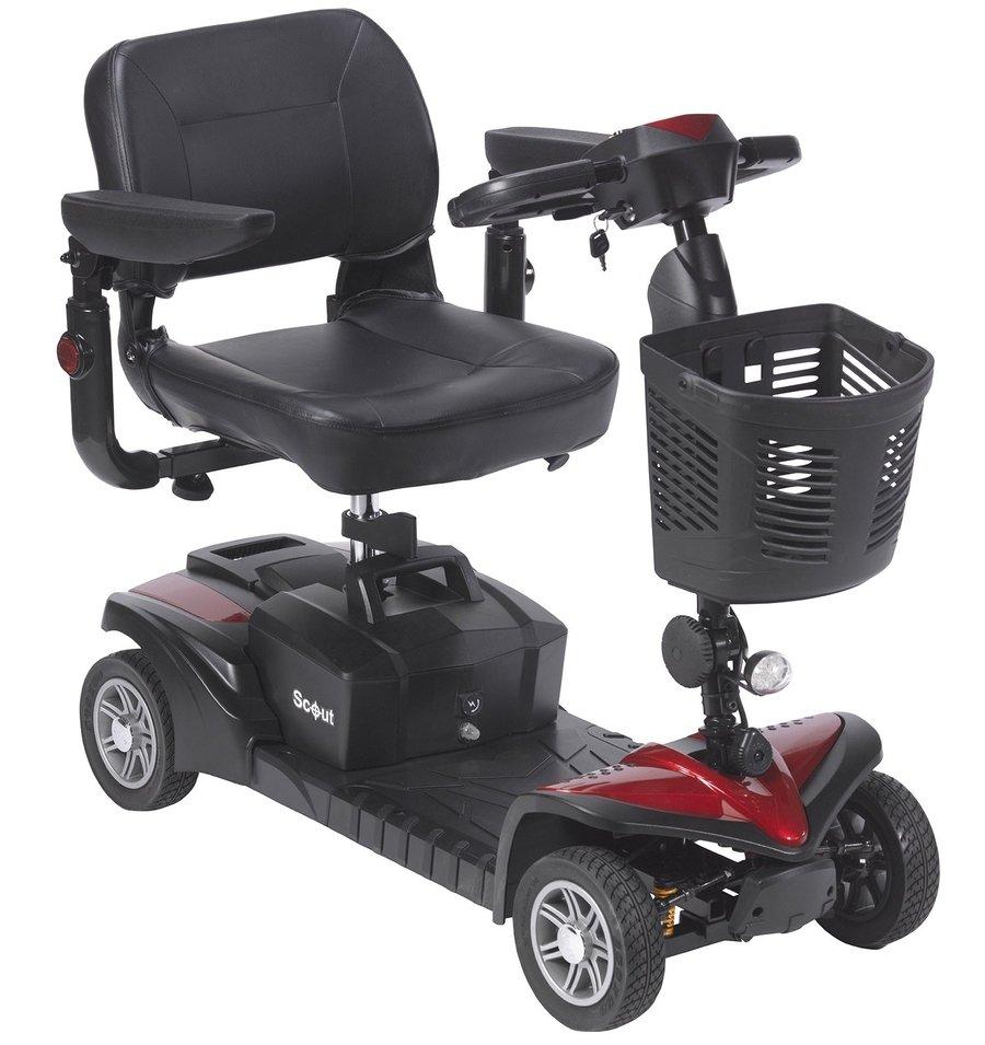 Drive Scooter Électrique, Quadriporteur 2 Batteries 20 AH (voir Video) Scout Spitfire DST 4 Roues,  0 Taxes & livraison gratuite au Canada  Prix Spécial $1595
