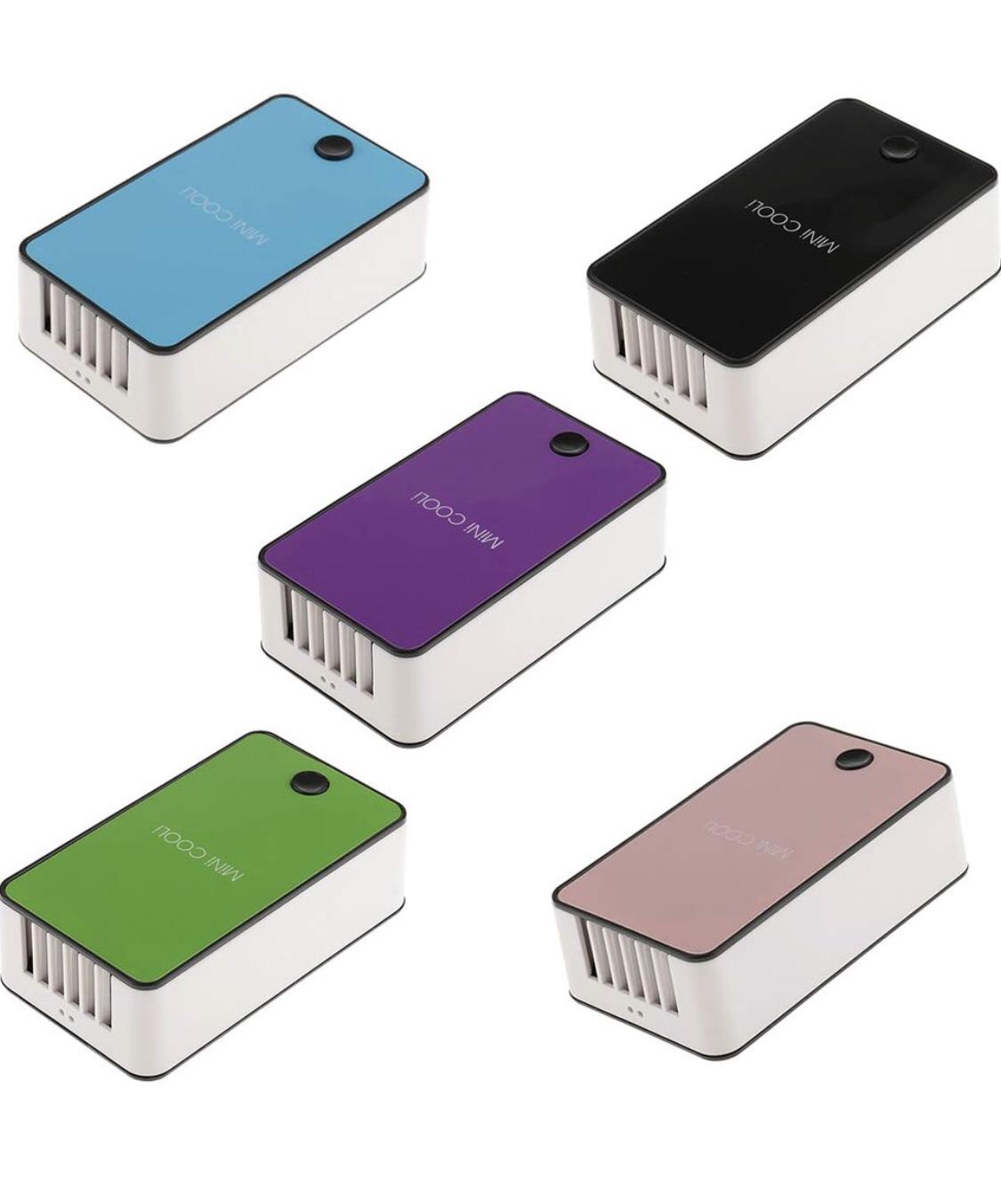 MagiDeal Mini USB Eyelash Extension Adhesive Glue Grafting Air Conditioning Fan Individual Eye Lash Blower Quick Blowing Dryer