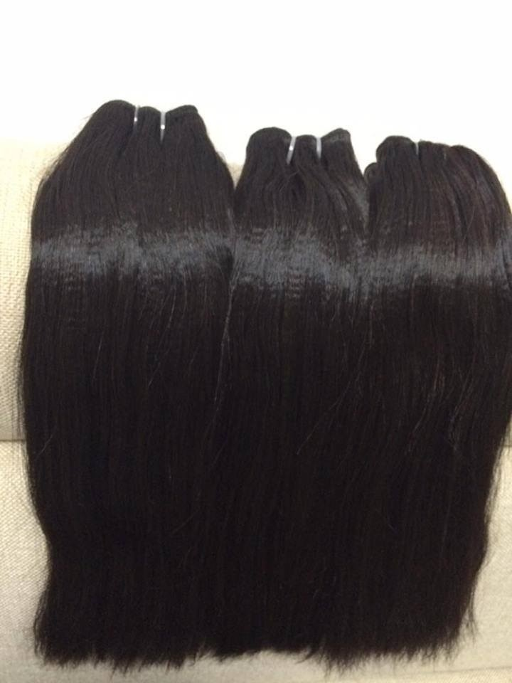 Double Weft Straight Hair Natural colour