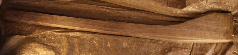 Black Walnut Grade 2 Moderate Curl or Burl Full Gun Stock Blank