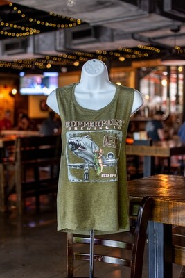 Women's A-10 Red IPA Tank