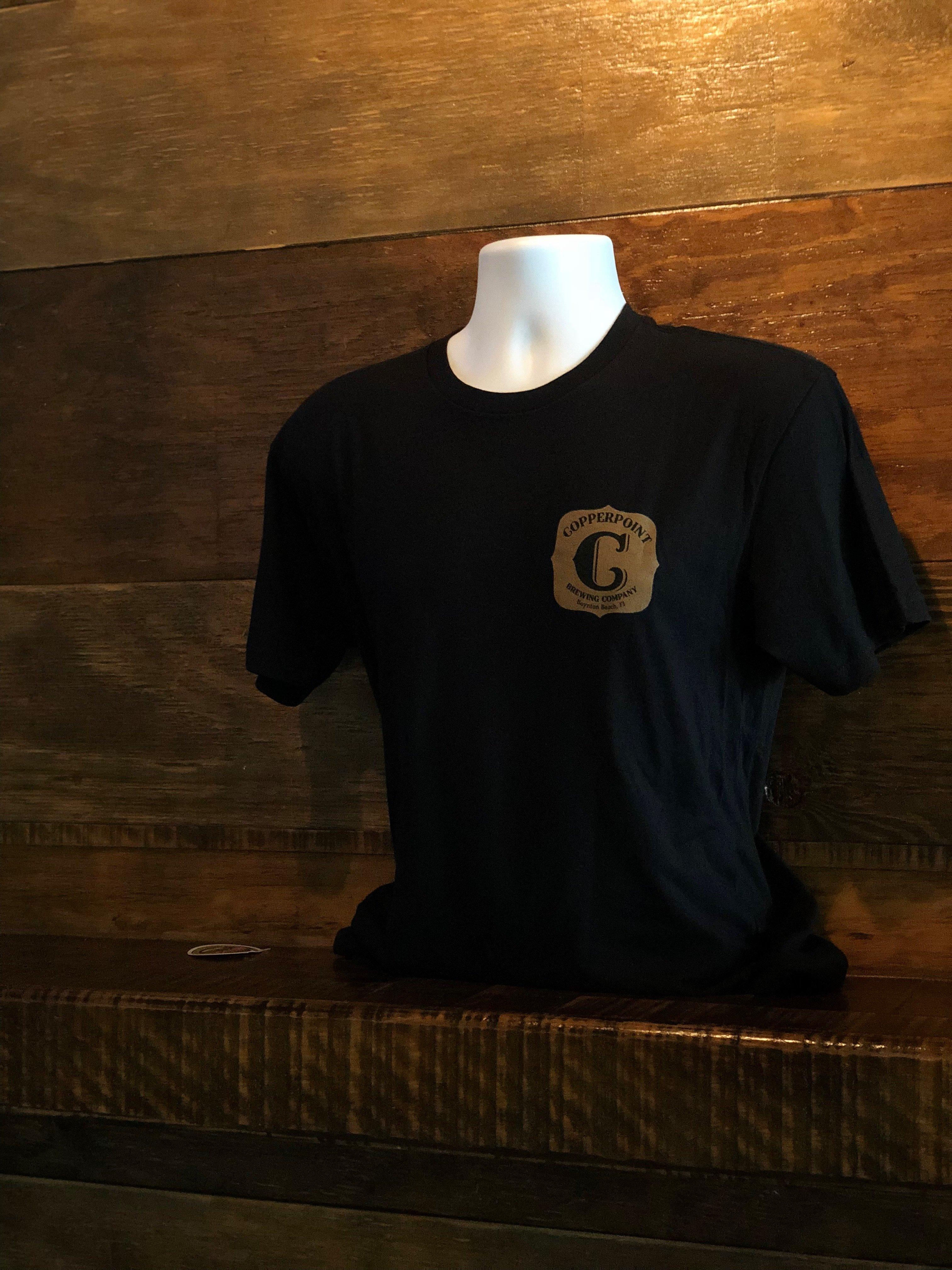 Men's Black Lager Girl Shirt