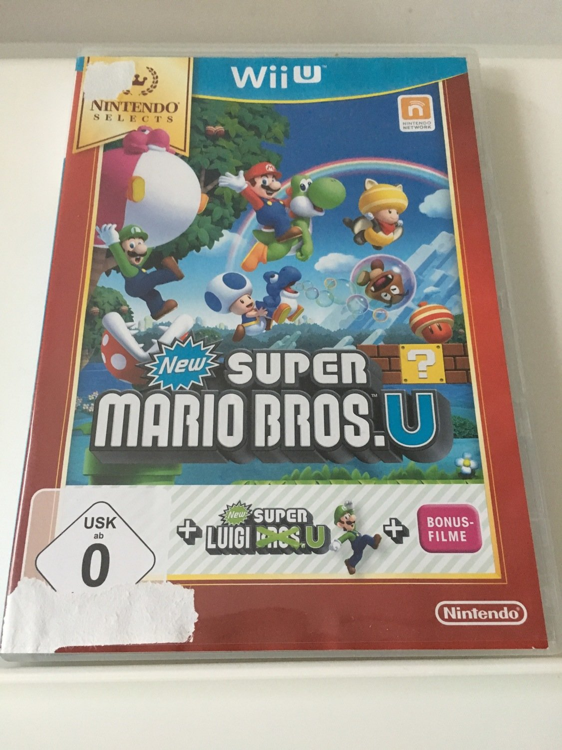Super Mario Brosu New Super Luigi U Zustand Sehr Gut