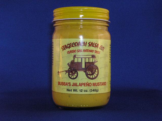 Bubba's Jalapeno Mustard