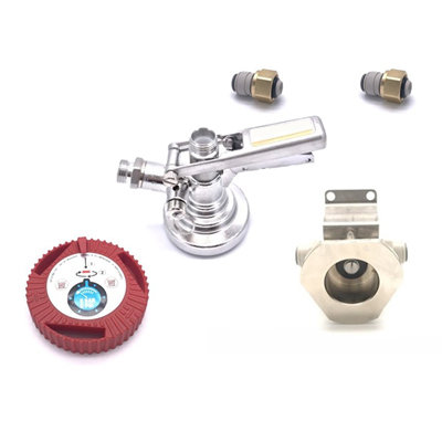 KeyKeg Cleaning Socket Wall Mounted with Fittings