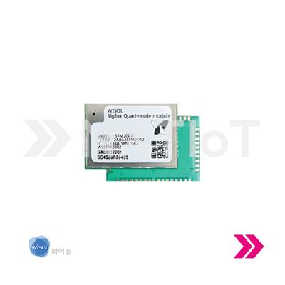Módulo de Conectividad Sigfox + WiFi + BLE - WISOL Quad Mode (Zona 2)