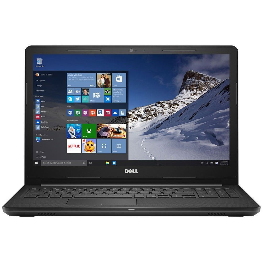 "Dell Inspiron 15 3565 4GB Ram 500GB HD DVDRW 15.6"" Laptop"