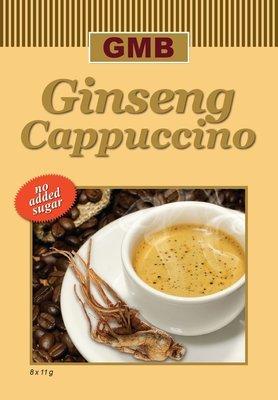 Ginseng Cappuccino, veel melk maar ongezoet
