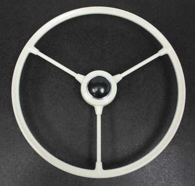 BARNDOOR STEERING WHEEL-GREY