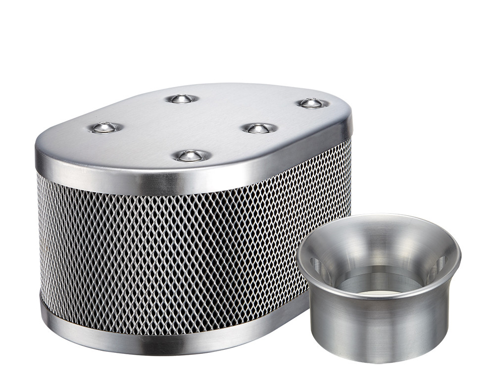 CLASSIC STYLE OVAL MESH AIR CLEANER SET FOR KADRON