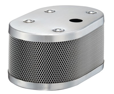CLASSIC STYLE OVAL MESH AIR CLEANER SET FOR IDF AND DELLORTO WITH 20MM HOLE