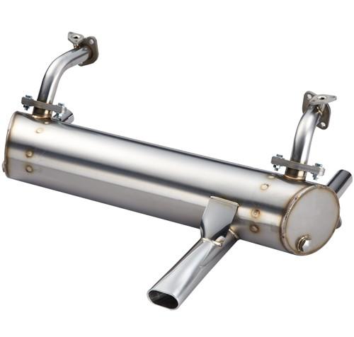 SINGLE TAIL PIPE SPORT MUFFLER FOR 25HP, 36HP