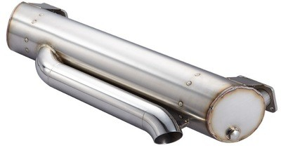 HIDDEN TAIL PIPE SUPER FLOW MUFFLER FOR BAYWINDOW BUS UP TO 2400
