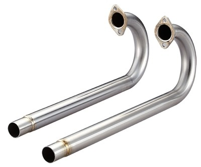 TYPE 3, TYPE 34 STAINLESS STEEL 38MM J PIPES