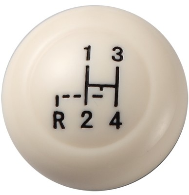 IVORY SHIFT KNOB FOR VW BUG BUS TYPE 3 KARMANN GHIA