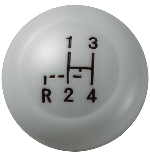 GRAY SHIFT KNOB FOR VW BUG BUS TYPE 3 KARMANN GHIA