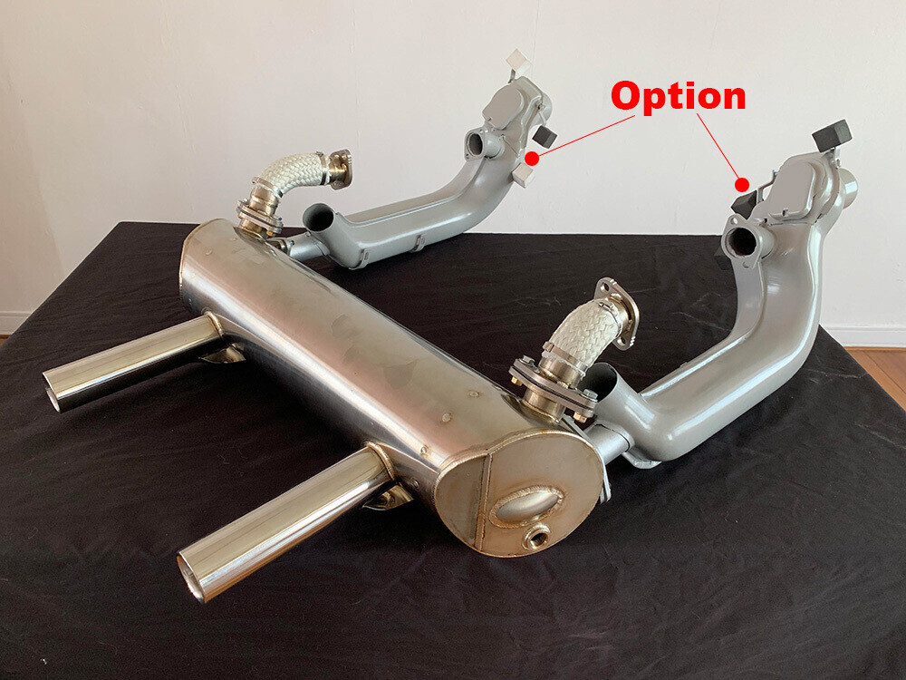 VW BUG SS143 Super Sport EXHAUST SYSTEM
