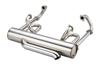 38MM SUPER SPORT EL SS143 EXHAUST SYSTEMS SPLIT BUS // USE EL-HEADER-13mm
