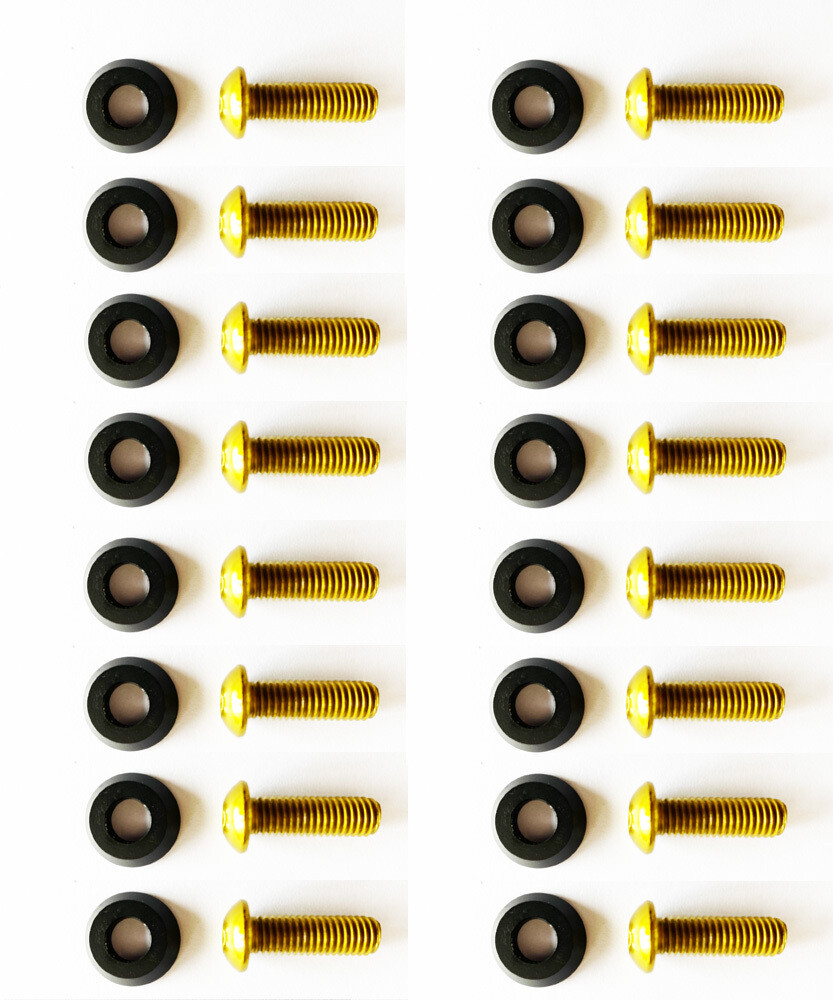 Black washers with 25mm M8 Screws //16PC