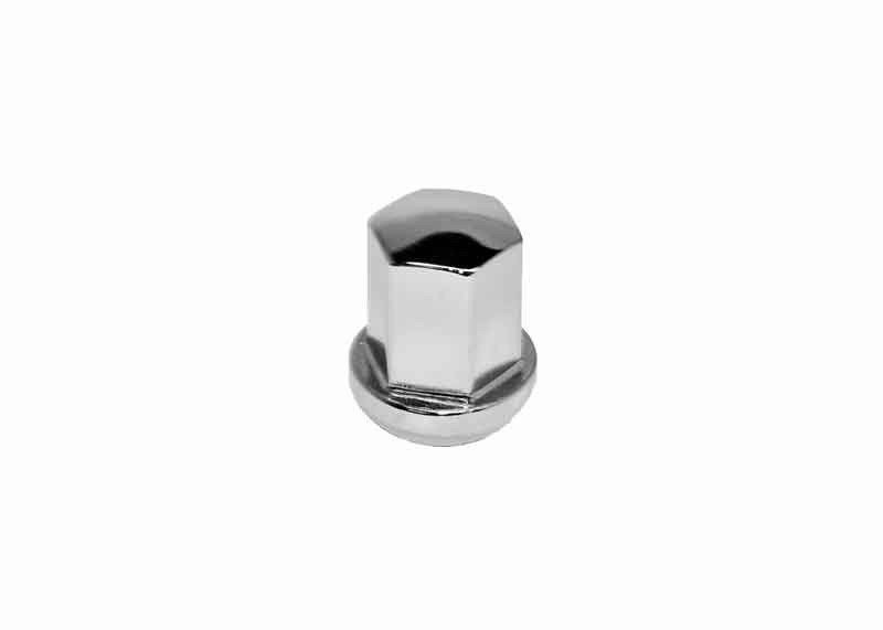 Lug Nut, replica of Porsche, Chrome Plated Steel, Each