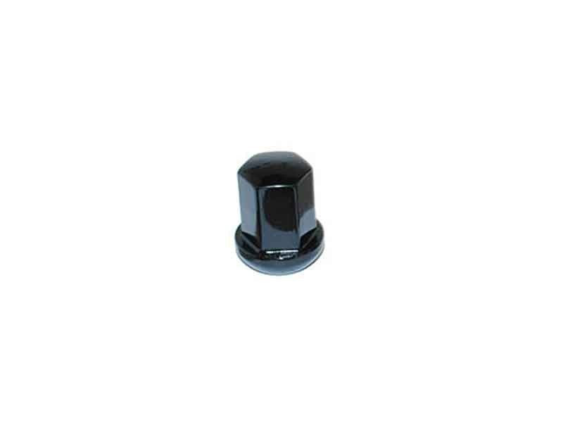 Lug Nut, replica of Porsche, Gloss Black, Each