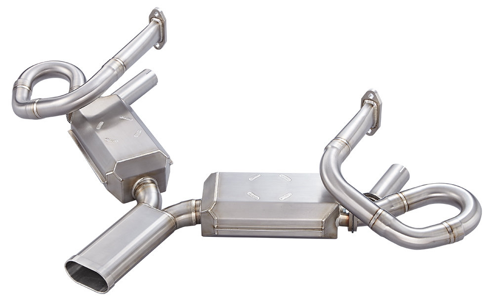 43mm Header QUIET PORSCHE 356 SEBRING STYLE EXHAUST SYSTEM