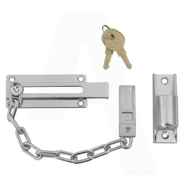 Locking Door Chain Keyed To Differ Security Lockable Front Door Chain