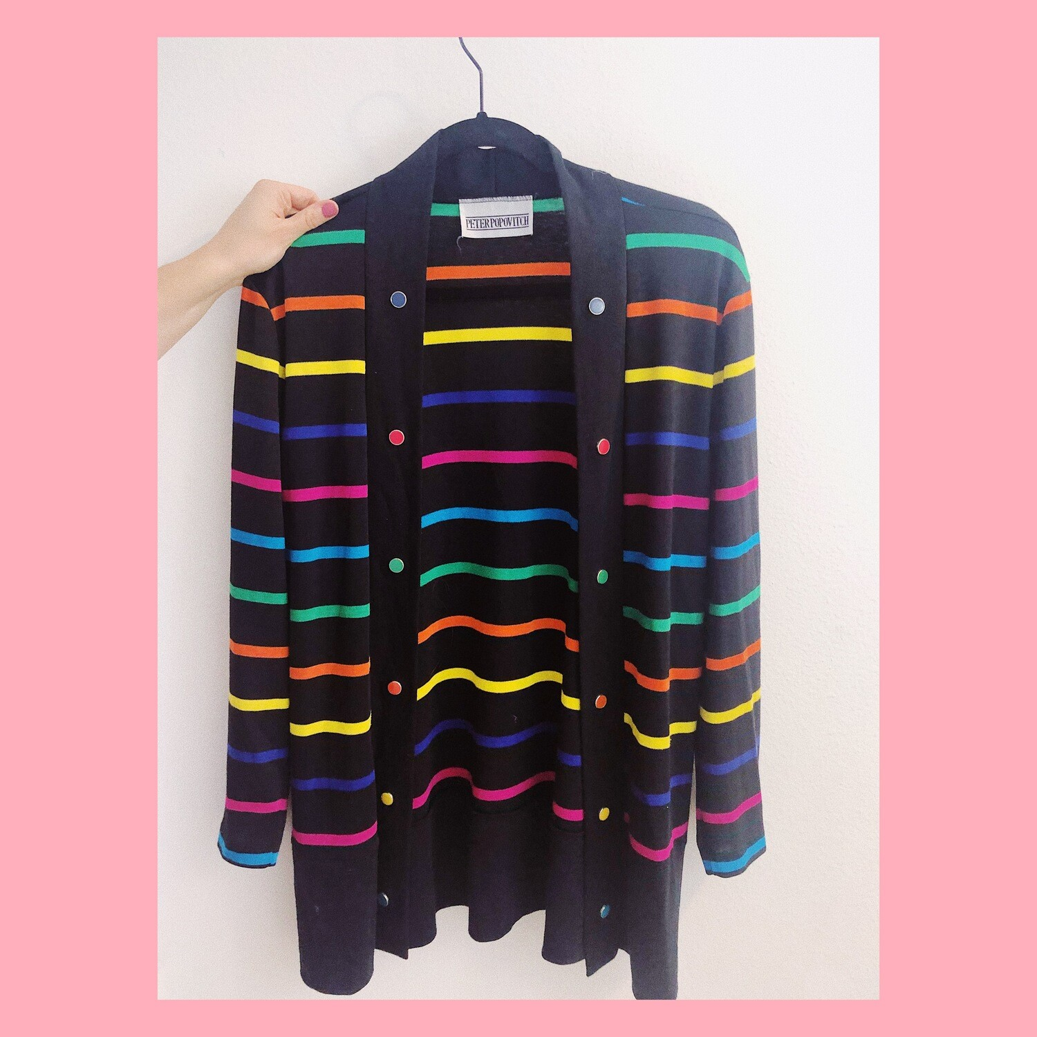 Box of crayons sweater