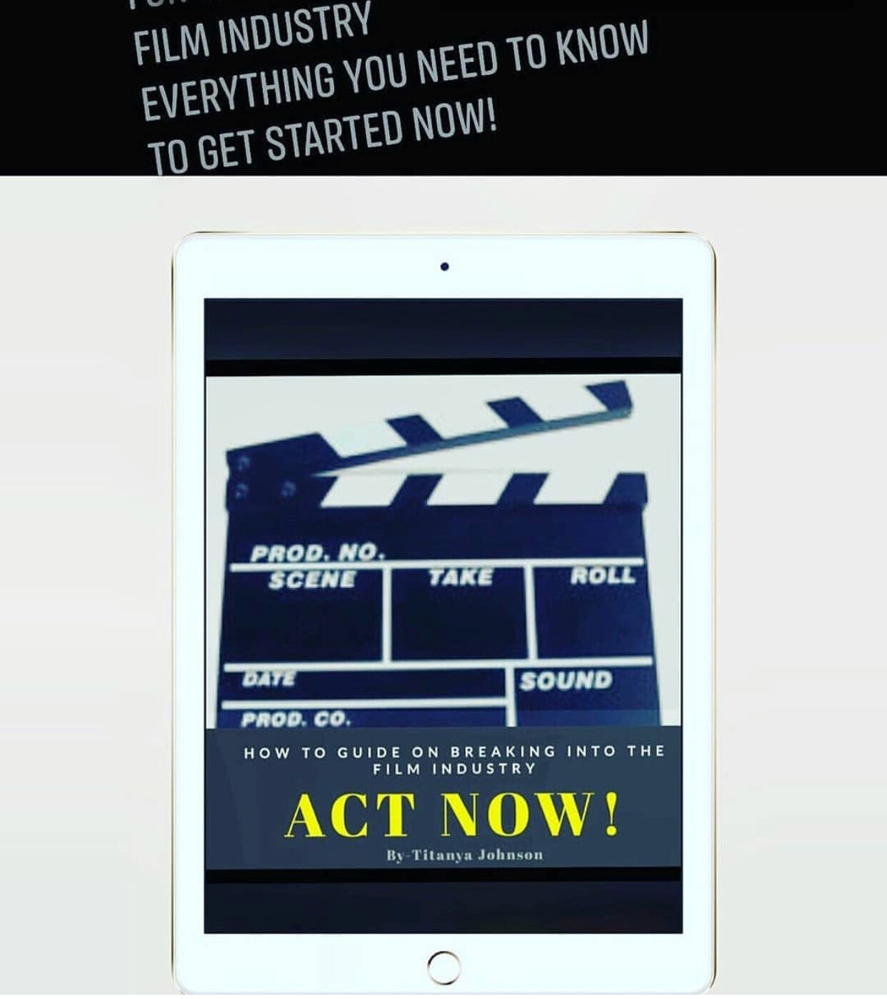 ACT NOW - book