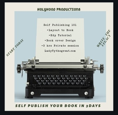 HolyHood -Self Publishing 101 - AUTHORITY OF THE AUTHOR
