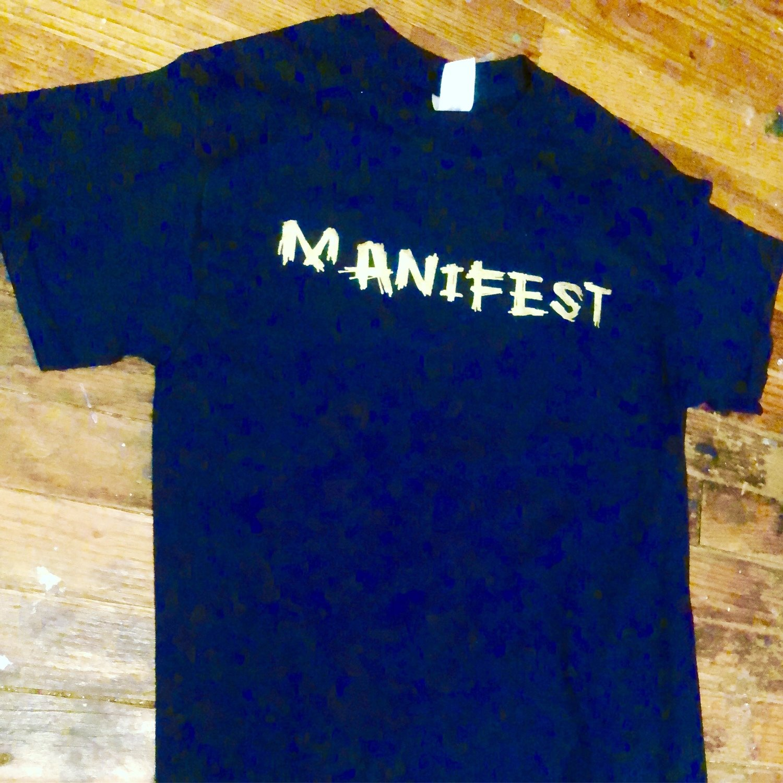 Manifest - Gold letter edition (blk)
