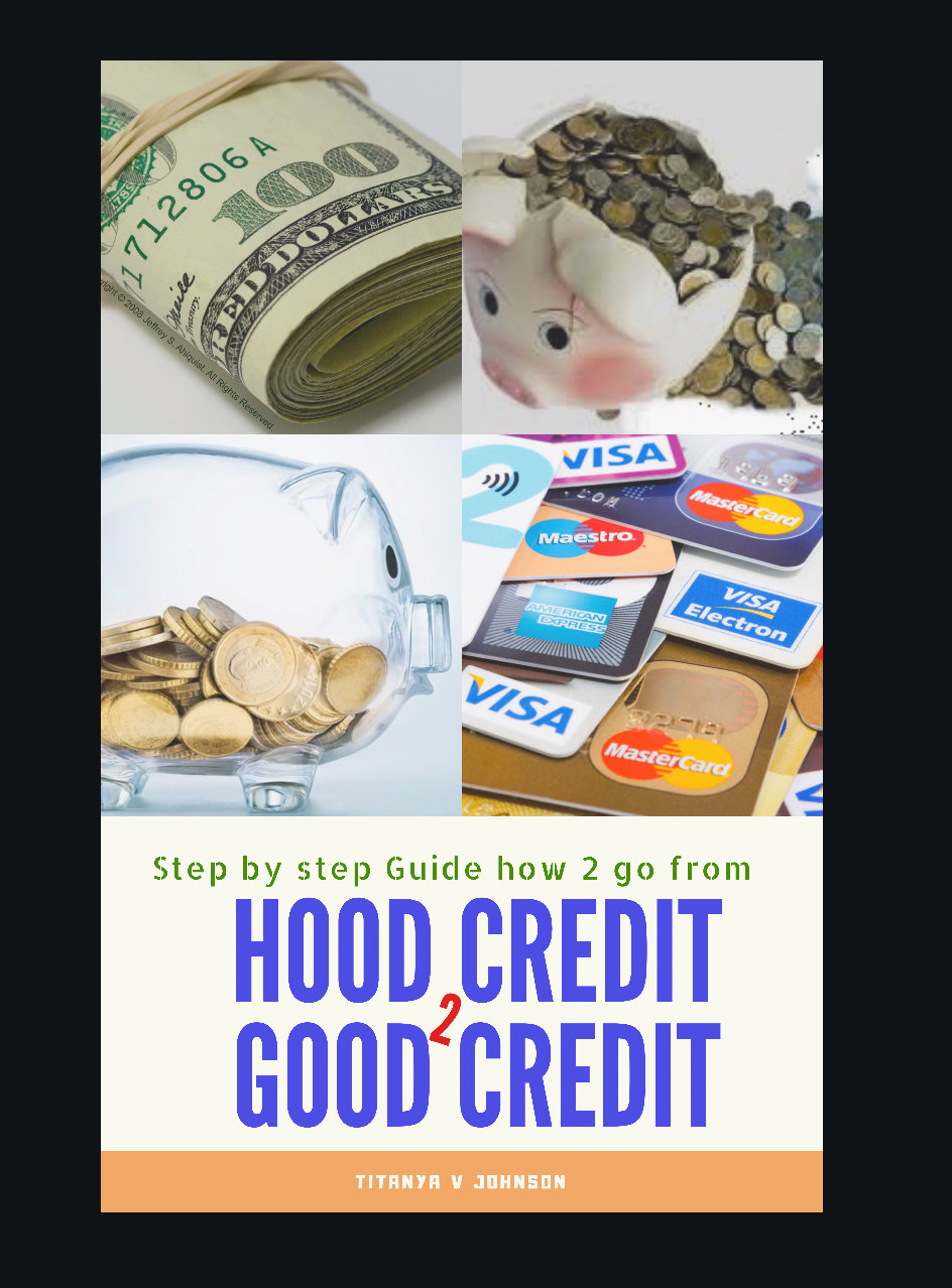 Ebook- Hood credit 2 Good credit -          E-BOOK#2 PRAYERS PROPHETS PRAY.  E-BOOK #3 The Great Print $7.77 each