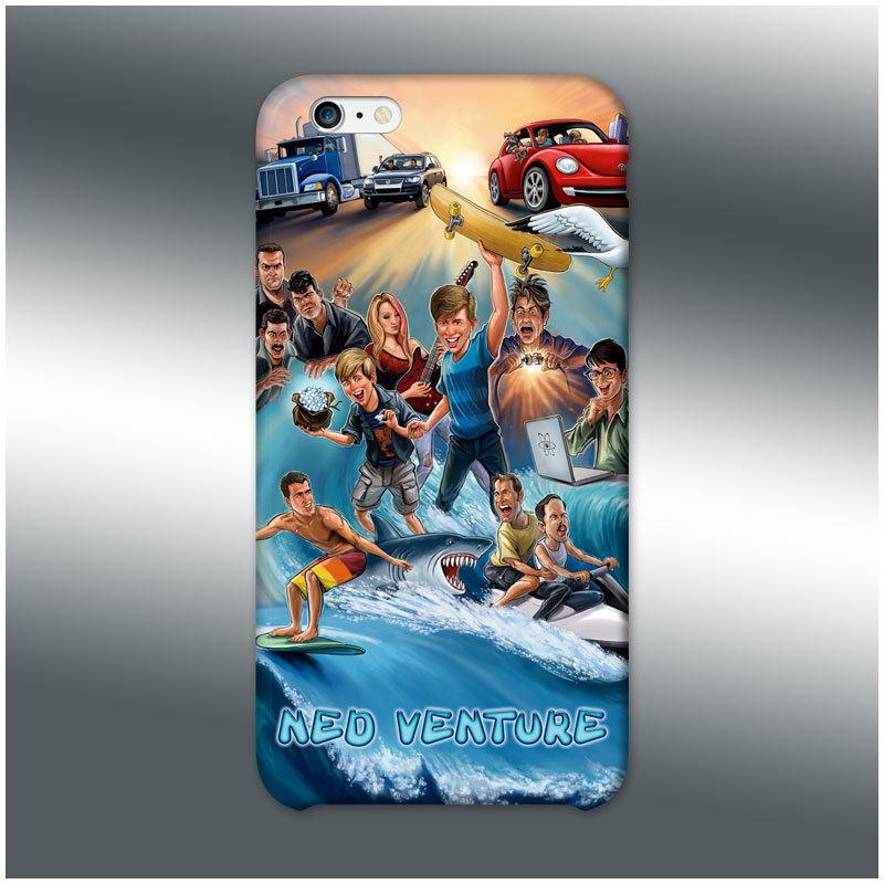 Ned Venture iPhone Case 003