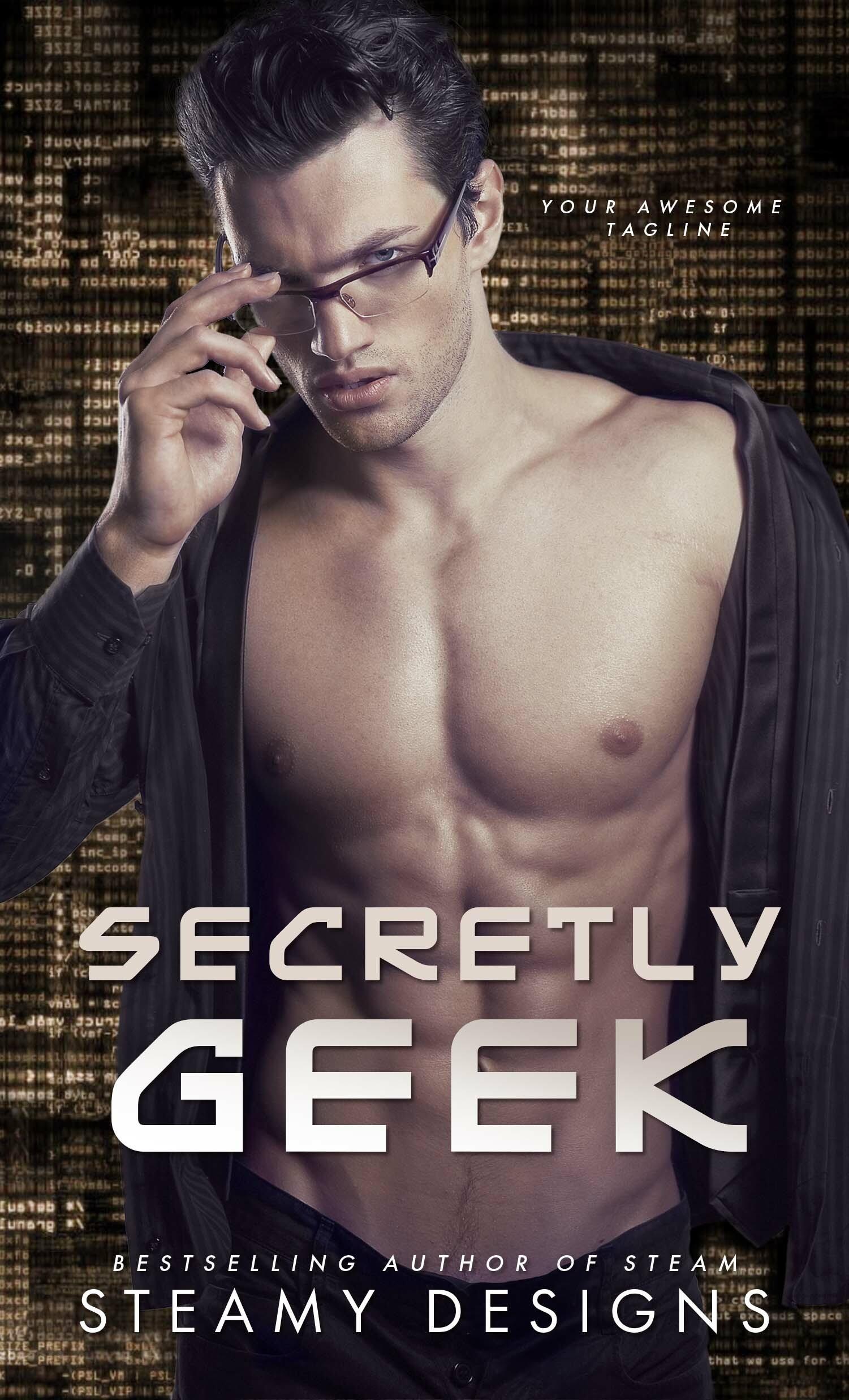 Secretly Geek - Pre-made cover 00069