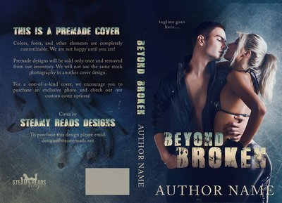 Beyond Broken - Premade Cover