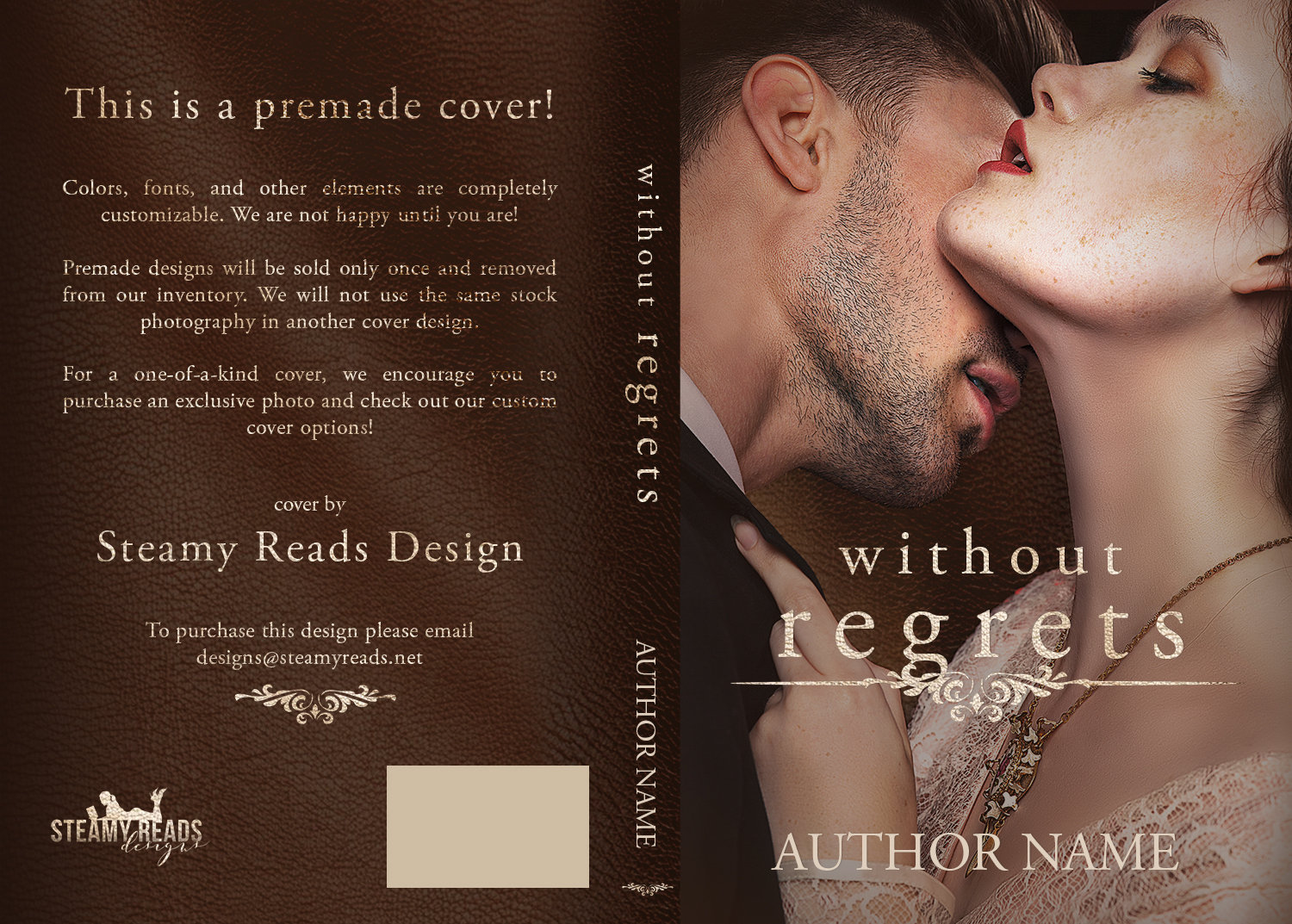 Without Regrets - Premade Cover 00002