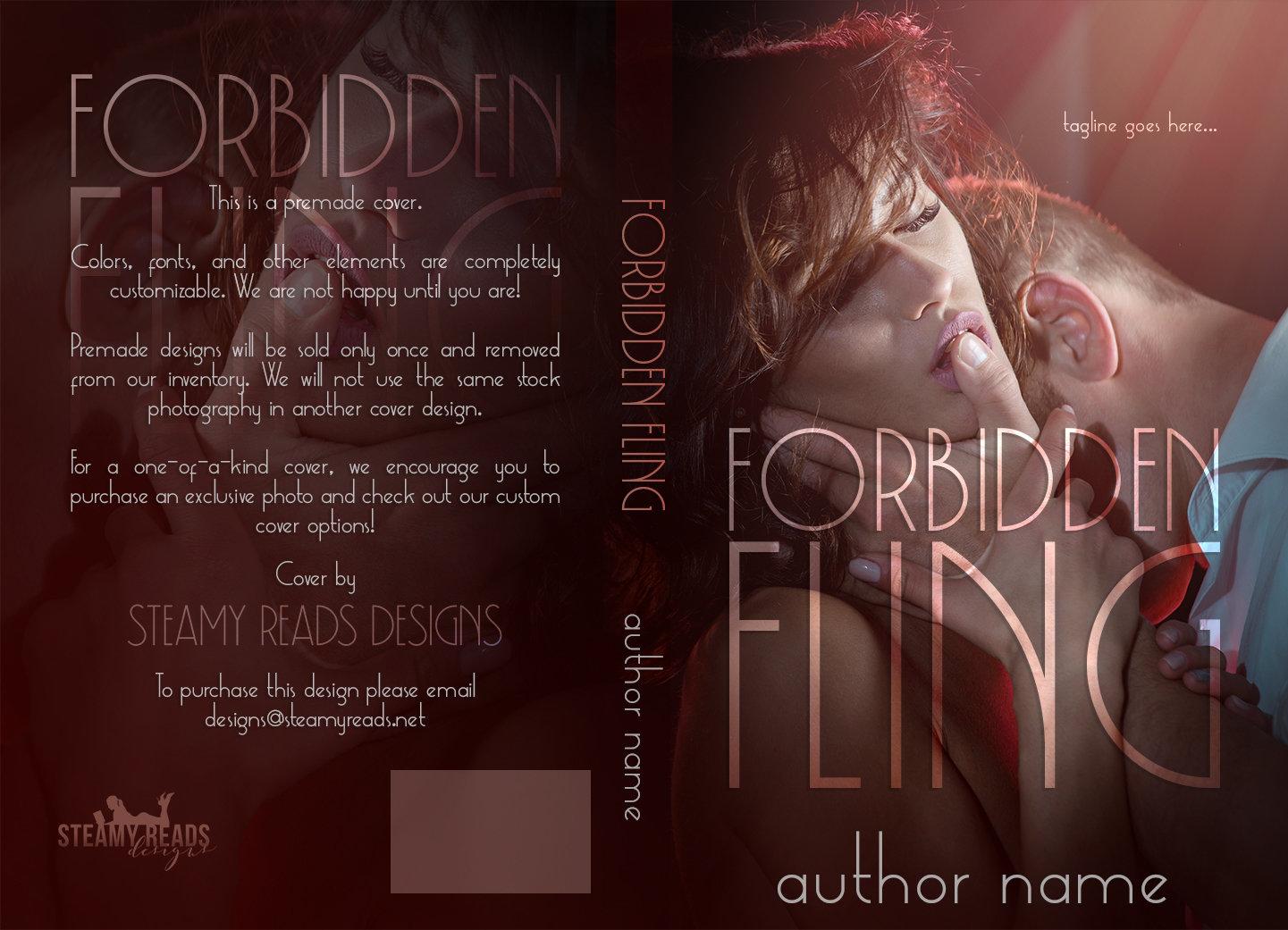 Forbidden Fling - Premade Cover 00021