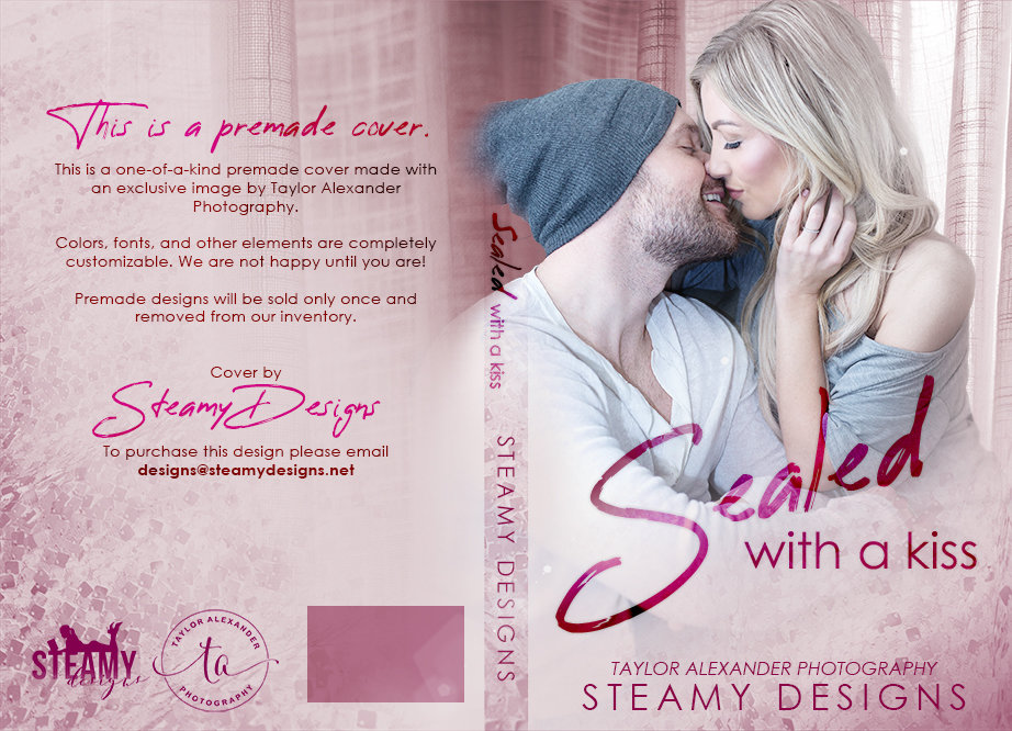 Sealed With a Kiss - Exclusive Premade Cover