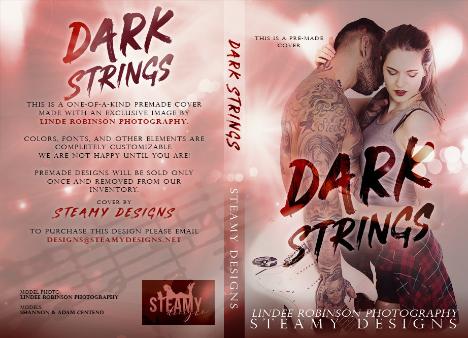 Dark Strings - Exclusive Premade Cover 00041