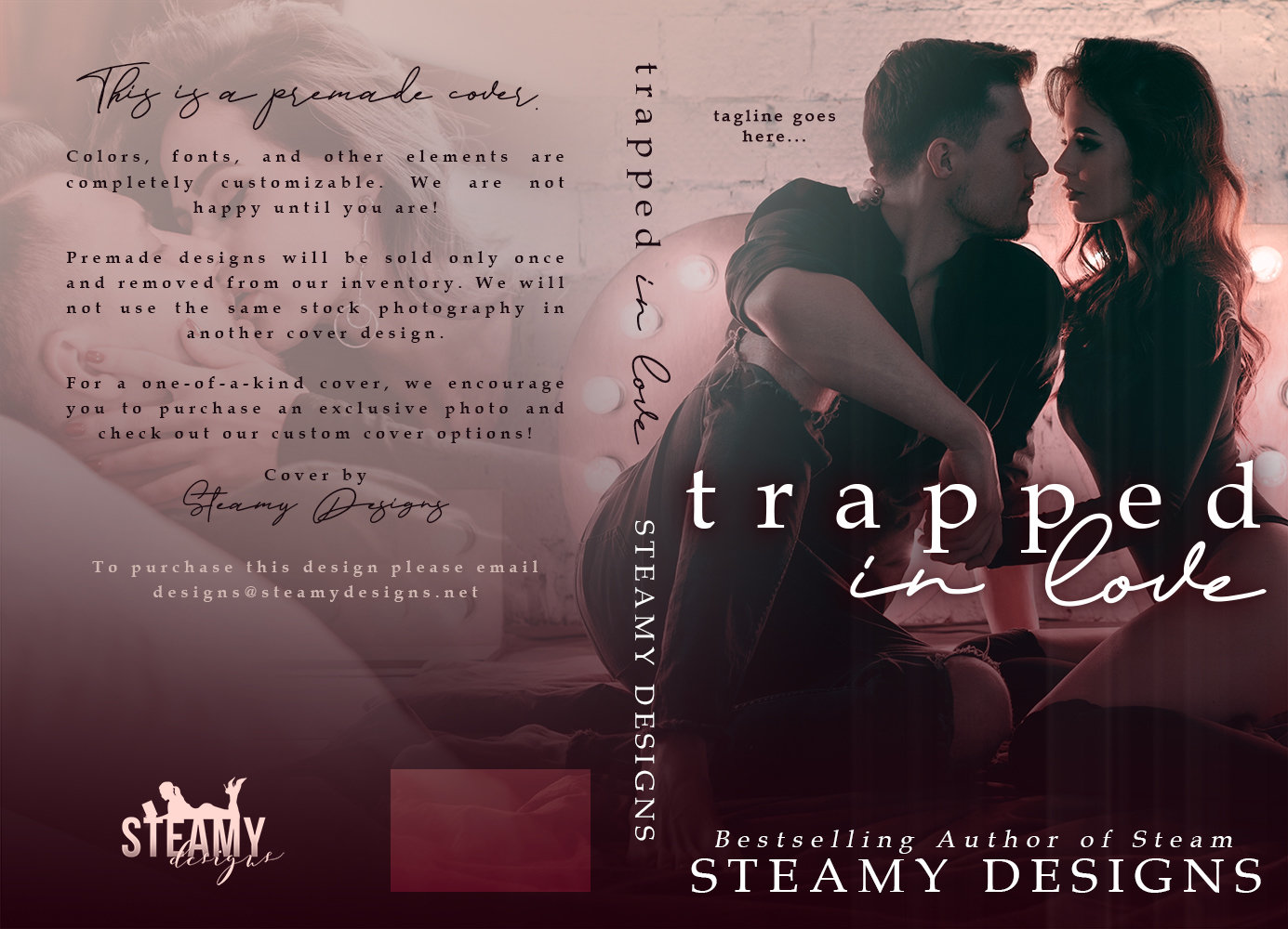 Trapped in Love - Premade Cover 00051