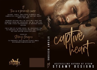 Captive Heart - Premade Cover