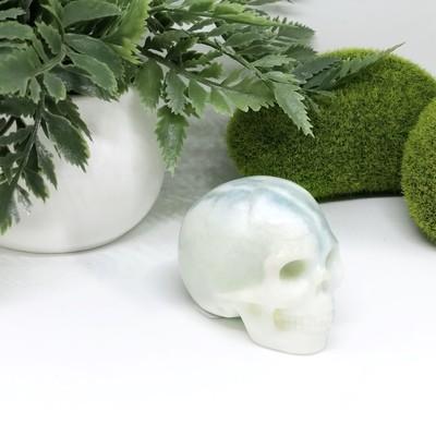 Green Jade Skull
